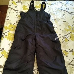 ZeroXposur Black Ski/Snowpants Bib M5-6 Youth
